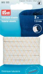 Schlauch-Elastic 7,5 mm weiß
