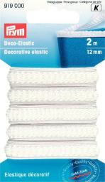 Deco-Elastic 12 mm weiß
