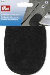 Patch.imit.suede grey/blue/blk 9x13 ass.