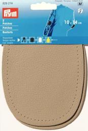 Patches Nappaleder 10x14cm beige
