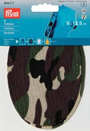 Patches CO Camouflage 9x13,5cm sort.