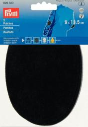 Patches Velourslederimitat aufbügelbar 9x13,5cm