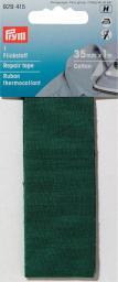 Flickstoff CO (zum Aufbügeln) 3,5 x 100 cm grün