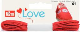 Prym Love Espadrilles-Kreativgarn rot