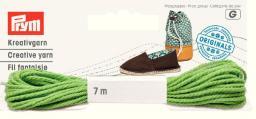 Espadrilles-Kreativgarn 7m grün (neues Design)