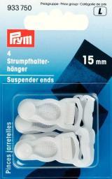 Suspender ends plastic