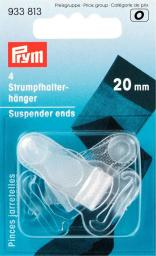 Suspender ends plastic 20mm
