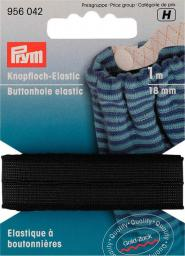 Buttonhole elastic smooth