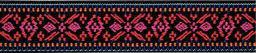 Color-Elastics 25 mm Blume rot / pink