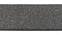 Color Elastic 50 mm schwarz/silber