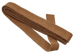 webbing for bag 40mm beige braided