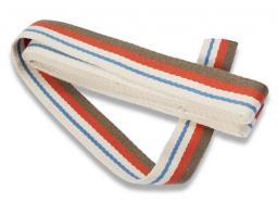 Gurtband für Taschen 40 mm natur/mehrfarbig