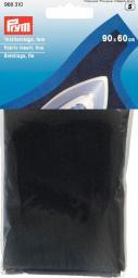 Textileinlage fein zum Aufbügeln 90 x 60 cm schwarz