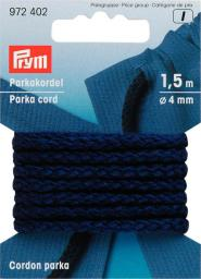 Parka Cord 4mm navy blue            1,5m