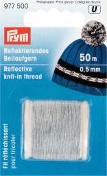 Reflektierendes Beilaufgarn 0,5 mm