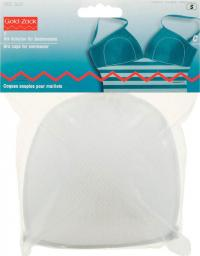 Bra cups for swimwear size C white   2pc