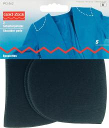 Should.pad covered set-in S black    2pc