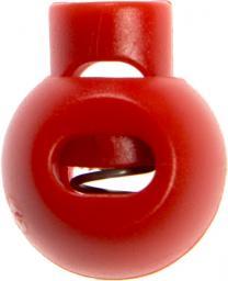Kordelstopper 1-loch KST 18mm rund