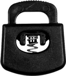 Kordelstopper 1-loch KST 20mm