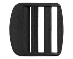 Klemm-Leiterschnallen KST 40 mm schwarz 2St