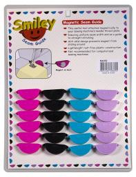 Smiley Saumhilfe magnetisch 4x6 Sort.