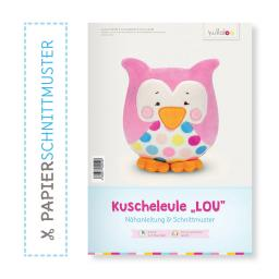 "Kullaloo Booklet Eule ""Lou"" Schnittmuster + Anleitung"