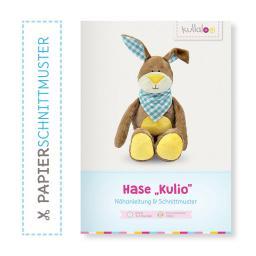 "Kullaloo Booklet Hase ""Kulio"" Schnittmuster + Anleitung"