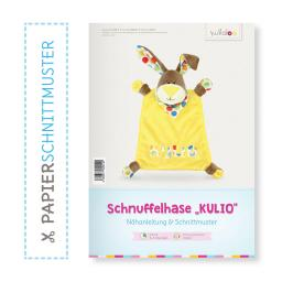 "Kullaloo Booklet Schnuffeltuch Hase ""Kulio"" Schnittmuster"