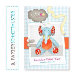 "Kullaloo Booklet Elefant ""Kumi"" Schnittmuster + Anleitung"