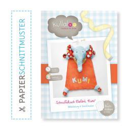 "Kullaloo Booklet Schnuffeltuch Elefant ""Kumi"" Schnittmuster"