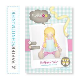 """Kullaloo Booklet Stoffpuppe """"Lulu"""" Schnittmuster + Anleitung"""