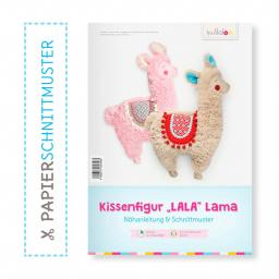 Kullaloo Booklet Kissenfigur Lama