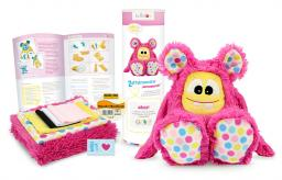 Kullaloo Materialset Zottel-Monster pink