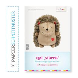"Kullaloo Booklet Igel ""Stoppel"" Schnittmuster + Anleitung"