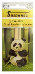 Fingerhandschuhnadeln Bambus