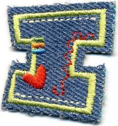 Motif I Fun Letters Jeans