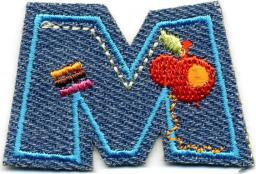 Applikation Fun Letter Jeans M