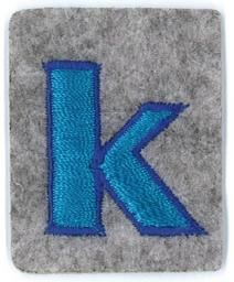 Applikation Fun Letter 'Alphabet Boys' K