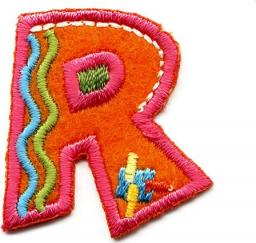 Applikation Fun Letter R