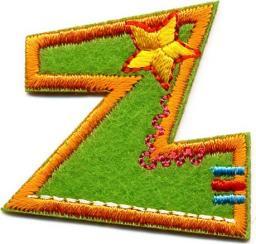 Motif Z Fun Letters