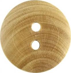 Button 2-hole wood 18mm