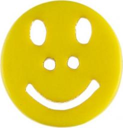 Button 2-hole Smiley 18mm