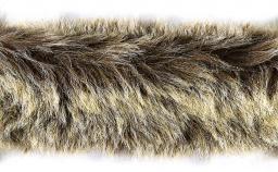 Faux Fur Trim Wolf 5Cm