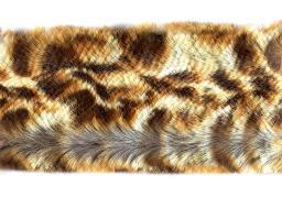 Faux Fur Trim Leopard 5cm