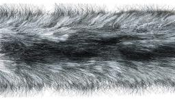 Faux Fur Trim Silver Fox 5Cm