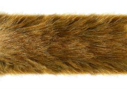 Faux Fur Trim Red Fox 5Cm