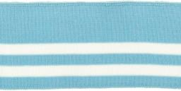 Bündchen 60mm hellblau