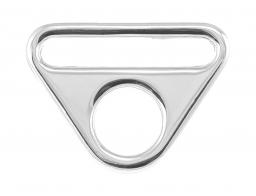 O-ring with bridge silver 32mm