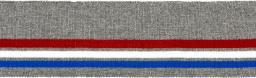 Bündchen 70mm grau