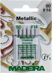 Machine Needles For Metal Yarns